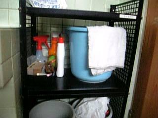 トイレの清掃用具